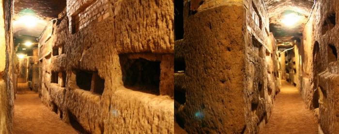 Древние катакомбы до сих пор не полностью исследованы.