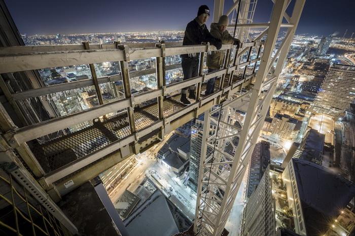 Торонто зимой: головокружительные фотографии от Ронни Йипа (Ronnie Yip)