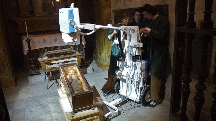 Современные исследования мумии