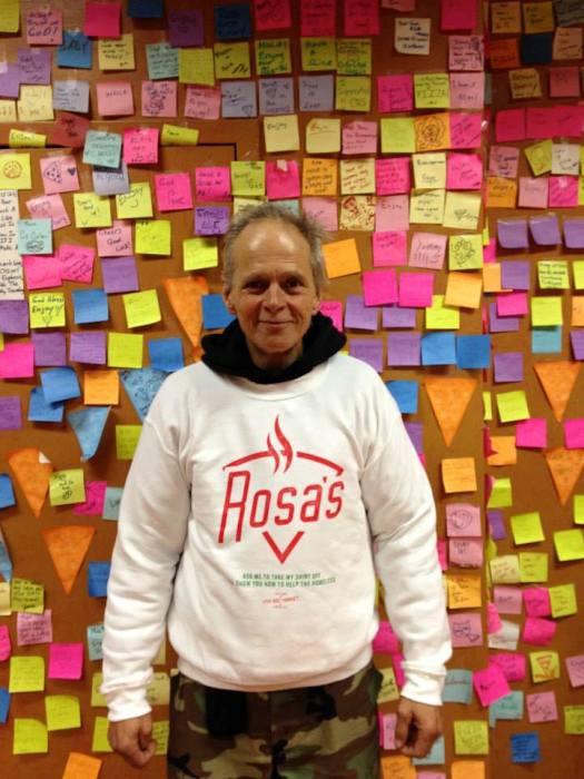 Благодарные посетители пиццерии Rosa Fresh Pizza