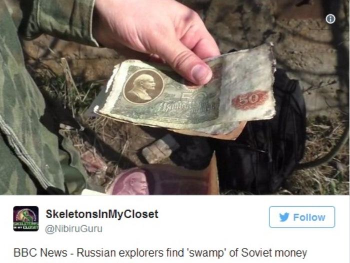 Советские банкноты сегодня не имеют ценности.