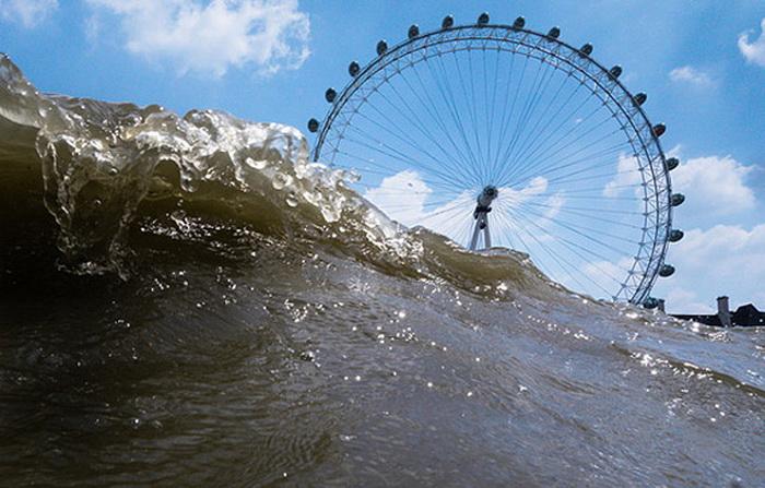 Затопленный Лондон в фотопроекте Руперта Джордана
