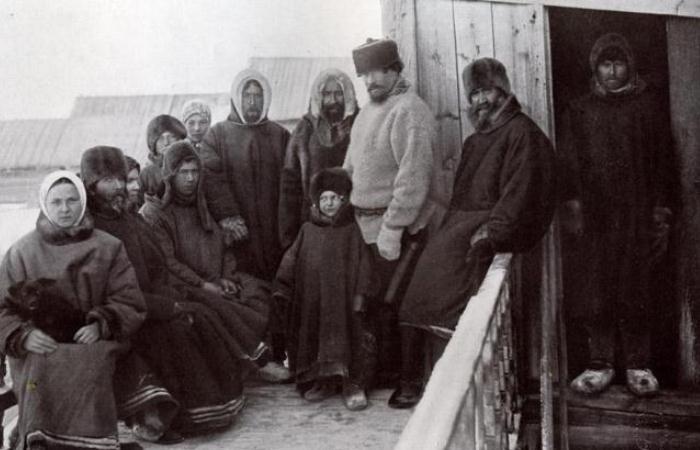 Русскоустьинцы - исчезающая народность Севера.