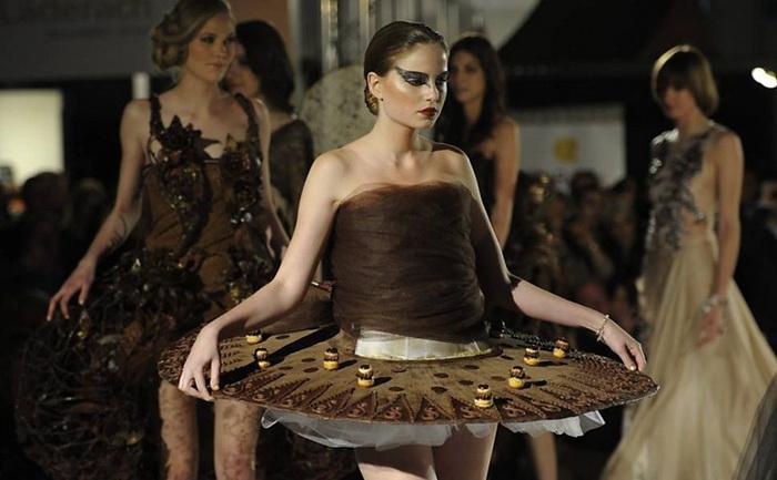 Шоколадный салон (Salon du Chocolat) в Швейцарии: почти балетная пачка