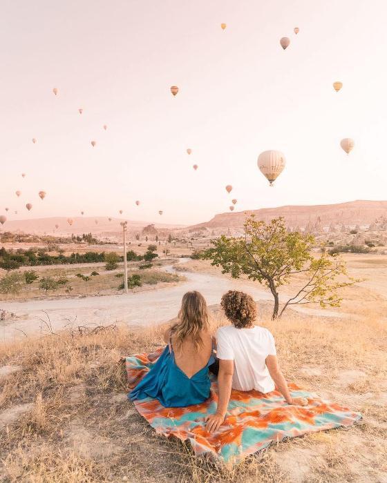 Воздушные шары над Каппадокией.