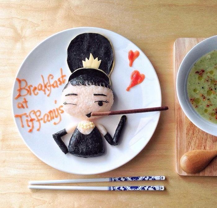 Рисунки из еды от Саманты Ли (Samantha Lee)