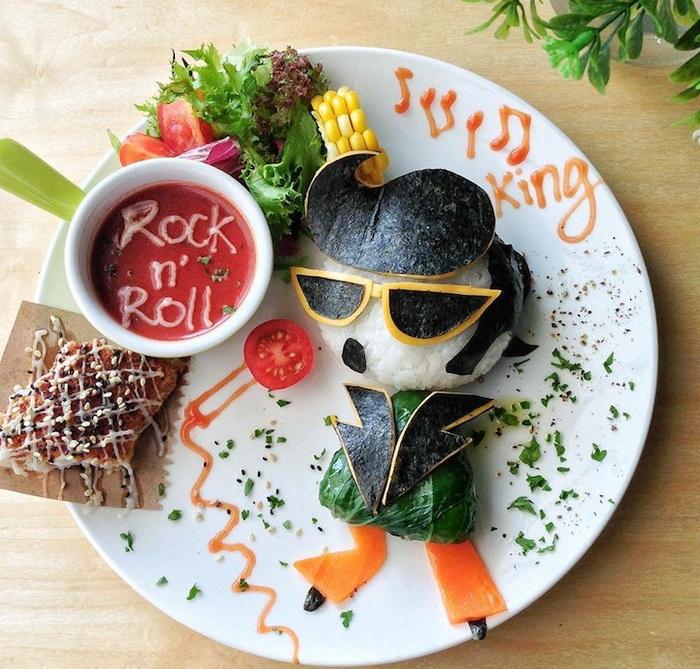 Саманта Ли рисует из еды поп-идолов, мультяшных персонажей и сказочных героев