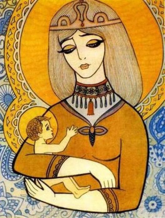 Дева Мария, 1988 г.