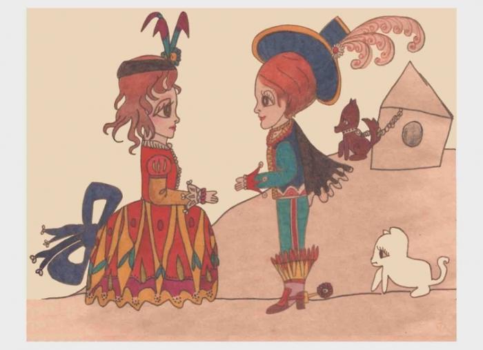 Я и Витя (двоюродный брат), 1983 г.