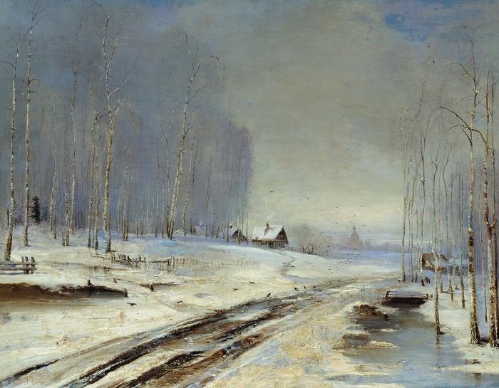 Алексей Саврасов, Распутица, 1894