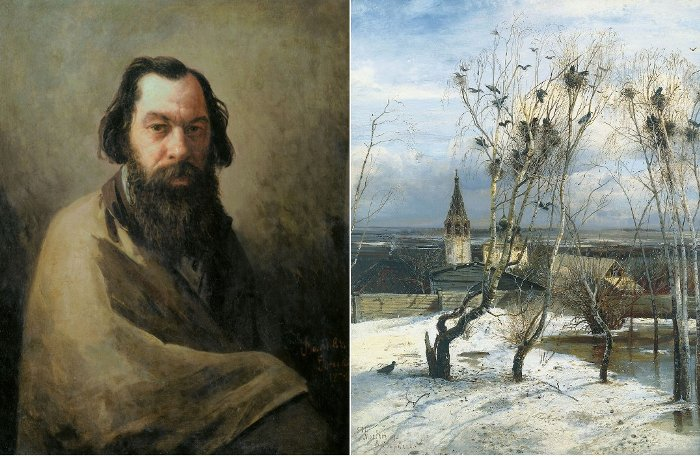 Алексей Саврасов -родоначальник русского пейзажа