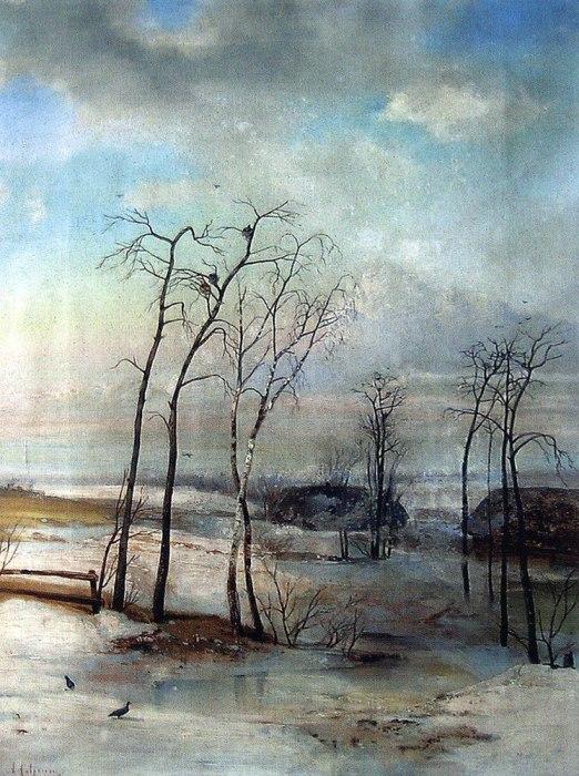 Алексей Саврасов, Повеяло весной, 1890-е