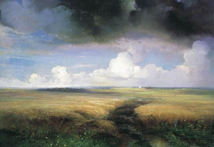 Алексей Саврасов, Рожь, 1881