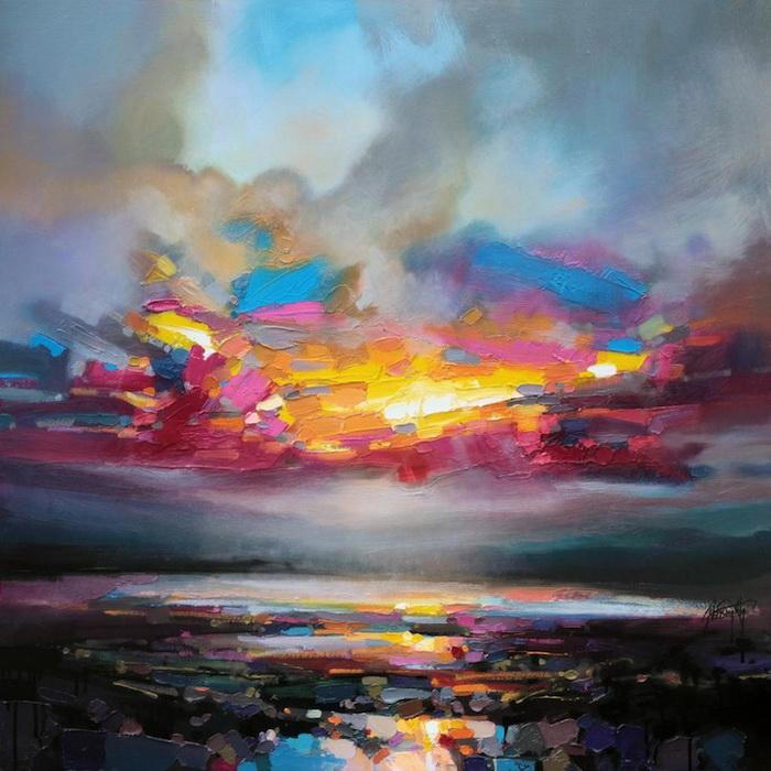 Природа Шотландии на картинах Скотта Нейсмита