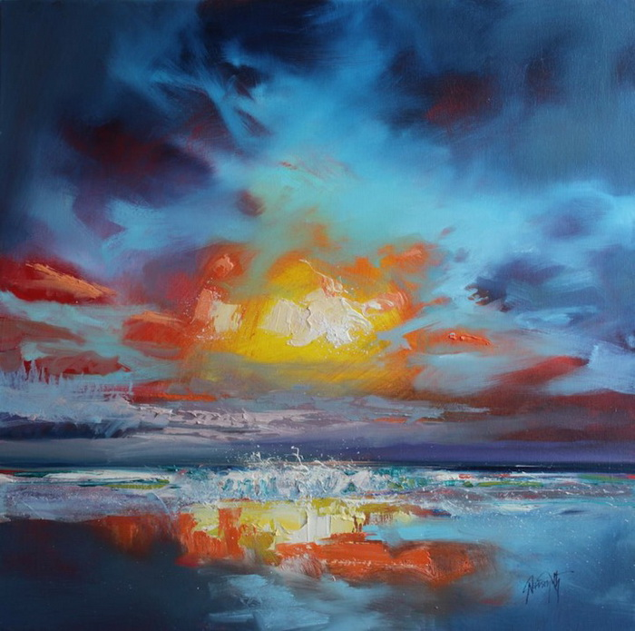 Скотт Нейсмит. Цикл картин «Primary Sky»