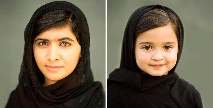Пакистанская правозащитница Малала и Скаут.