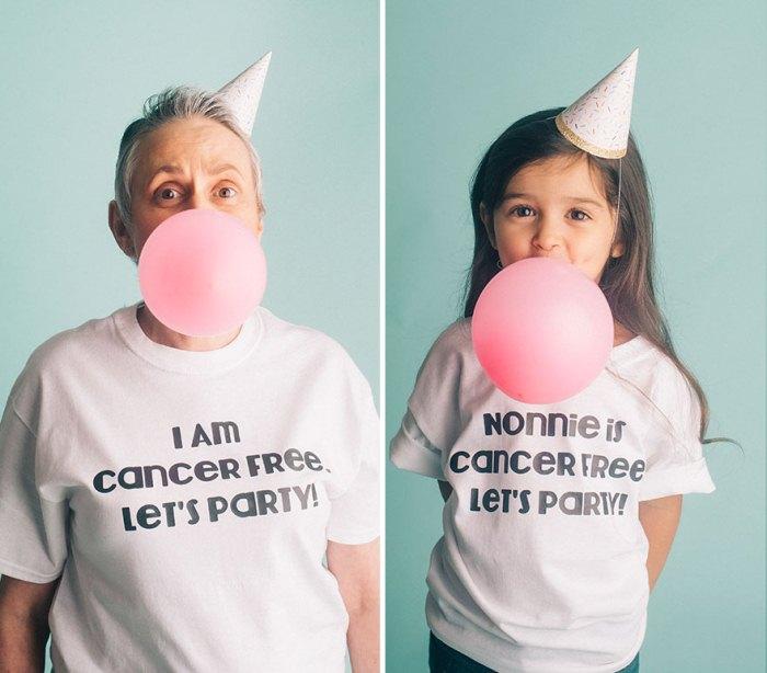 Нонни вылечилась от рака. Пора праздновать!