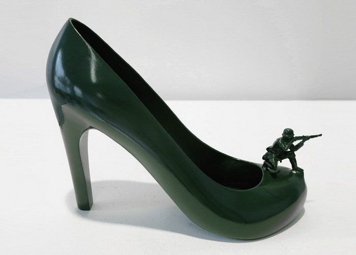GI Jane, воинственная Барбара. Коллекция туфель от Себастьяна Эрразуриза (Sebastian Errazuriz)