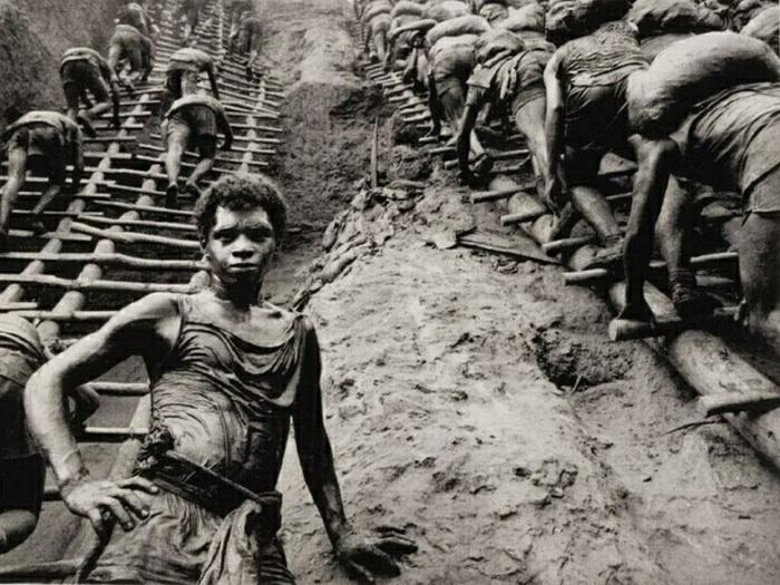 Добыча золота в Серра Пелада, Бразилия
