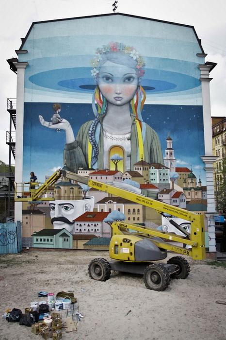 Киевский стрит-арт