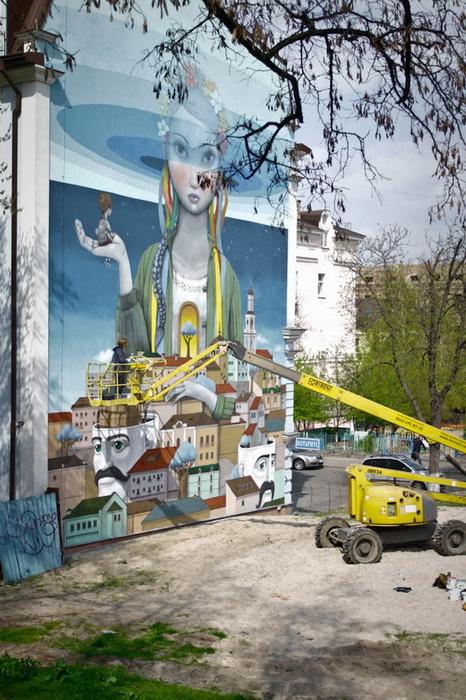 Украинка - современная Берегиня Киева