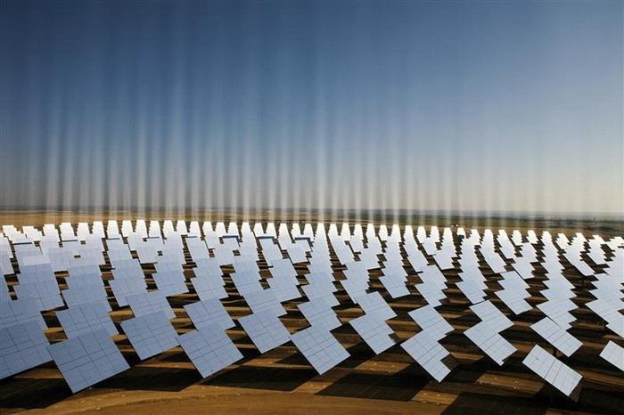 Солнечные электростанции в Севилье (Испания)