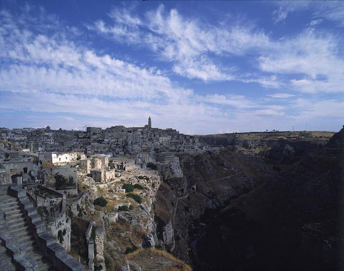 Пещерный город Матера (Италия)