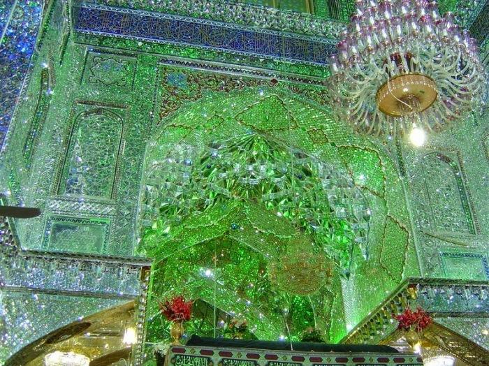 Мавзолей Шах-Черах - жемчужина исламской архитектуры