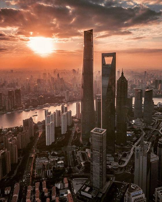 Красота китайского мегаполиса.