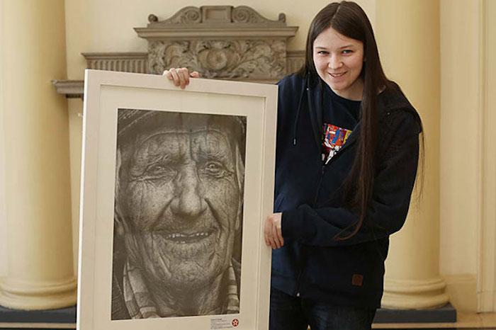Гиперреалистические портреты от Шании Макдонах (Shania McDonagh)