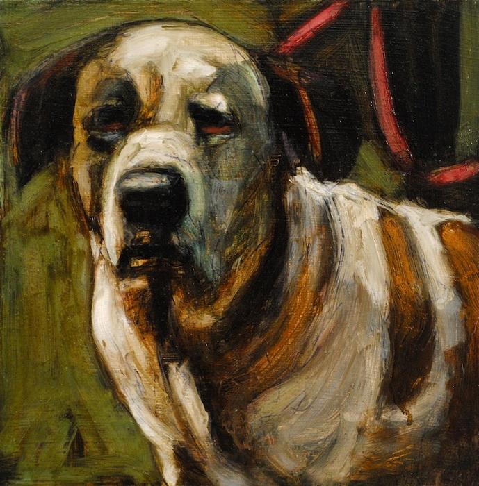 Душещипательные портреты собак от Марк Барон