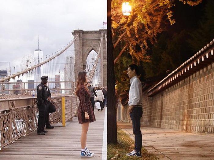 Душевные фотоколлажи об отношениях на расстоянии