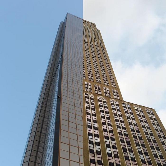 Практически одинаковая архитектура