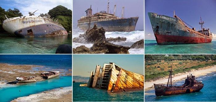 Затонувшие корабли, на которых можно побывать