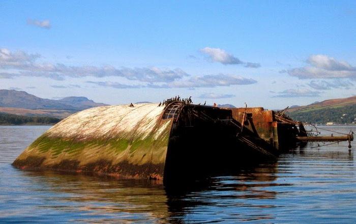 Затонувший сухогруз «Captayannis»