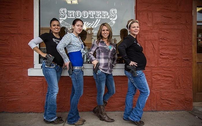 Shooters Grill: тематический ресторан в Колорадо