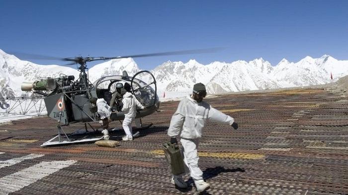 Многолетний военный конфликт между Пакистаном и Индией на леднике Сиачен