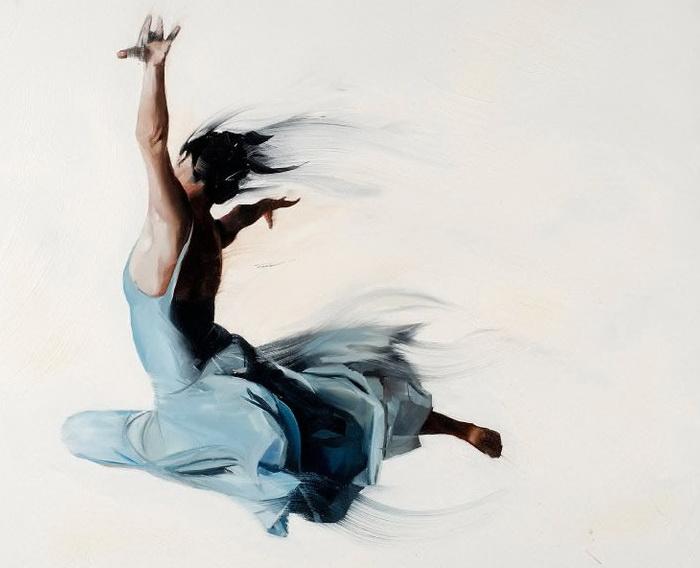 Танцовщицы на картинах Саймона Бирча (Simon Birch)