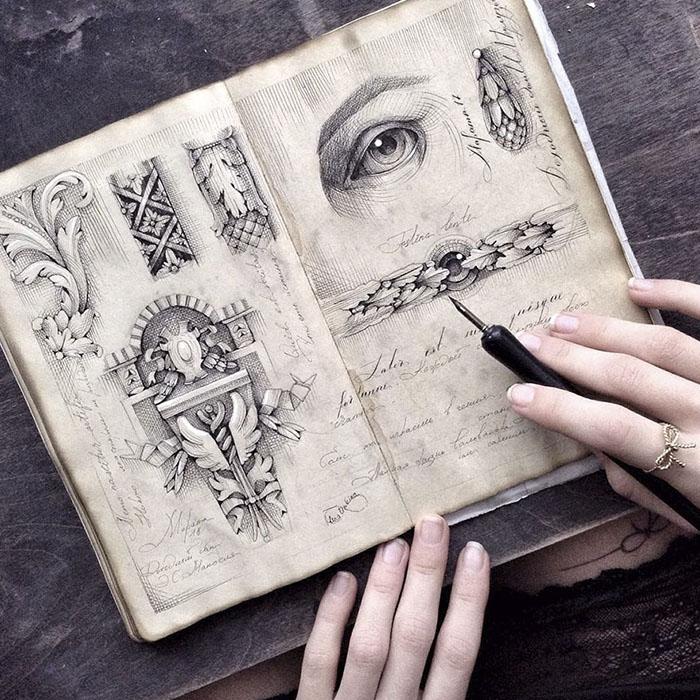 Зарисовки от Елены Лимкиной.