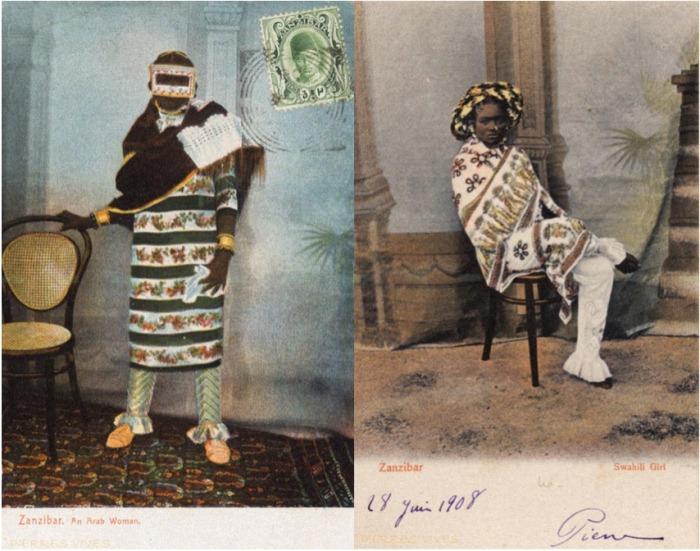Фотографии женщин, которые стали открытками.