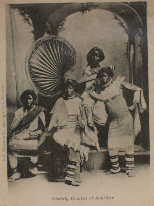 Красавицы суахили из Занзибара.