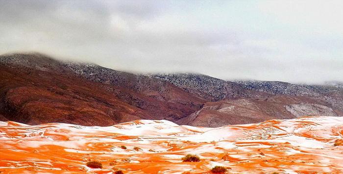 Снег в Сахаре - невероятный природный феномен
