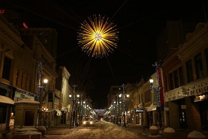 Solar Flare: интерактивная инсталляция в Калгари (Канада)