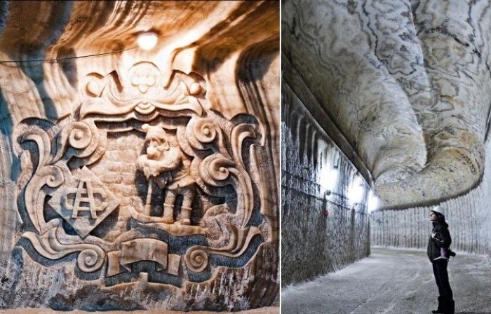 Соляная шахта Соледар - подземная достопримечательность Украины.