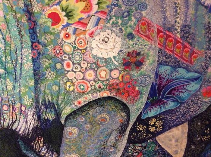 Лоскутная мозаика от Софии Стэндинг (Sophie Standing)