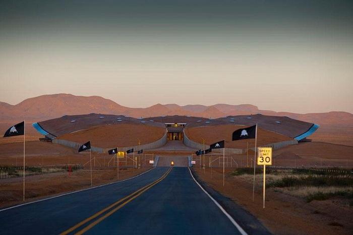 Строительство первого в мире космопорта будет завершено в 2013 году