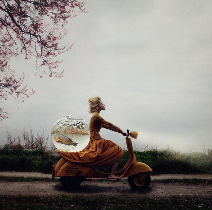 Сюрреалистические фотографии от Kylli Sparre