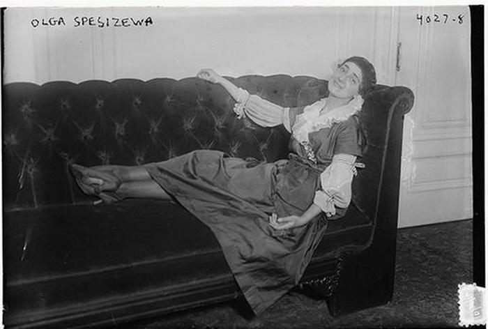 Трагическая судьба Ольги Спесивцевой. Фото: 1917 год.