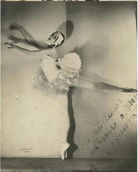 Спесивцева в сценическом костюме, 1934 год.