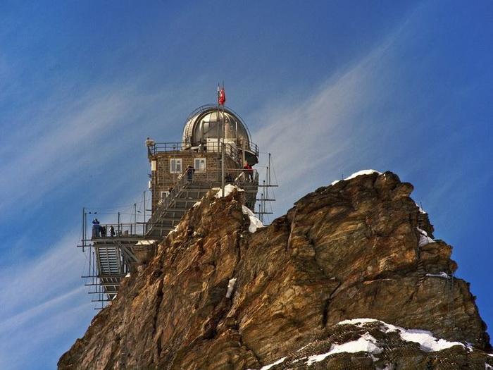 На вершине мира: обсерватория *Сфинкс* в Швейцарских Альпах